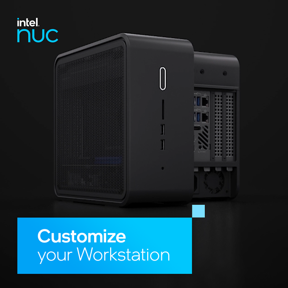Intel® NUC 9 Pro with Core i7 processor
