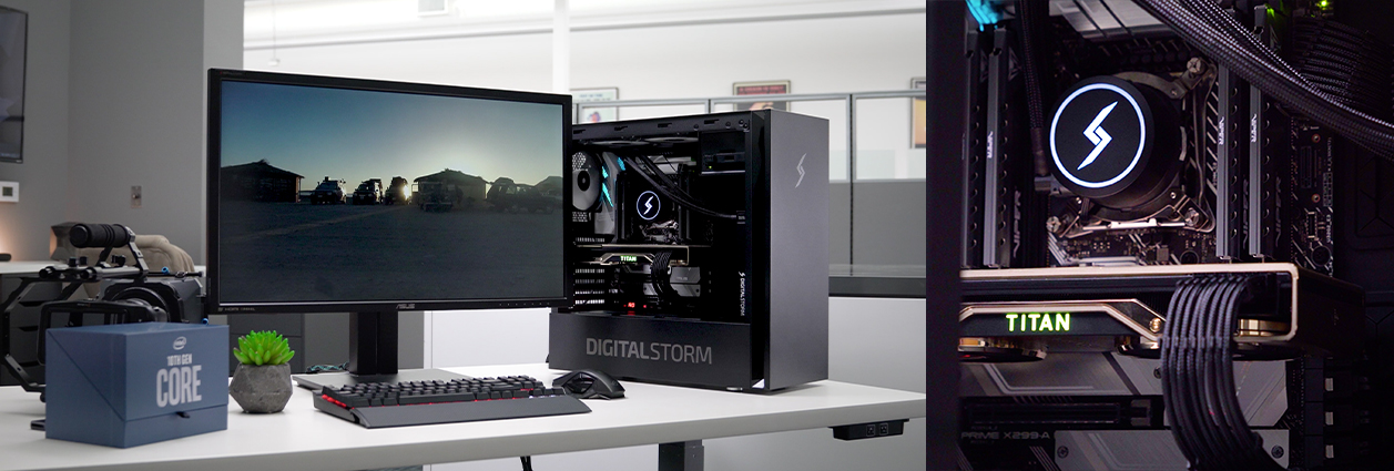 Get More Done in Less Time with Digital Storm's Workstations